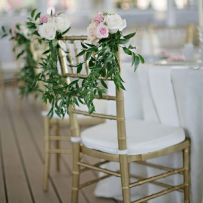 Chair Floral Posy